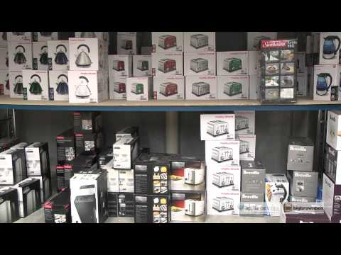 Overview of the delivery service available from the Western Australia Warehouse - Appliances Online