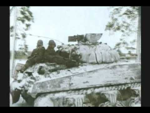 WWII - BATTLE OF THE BULGE - RARE COLOR FILM