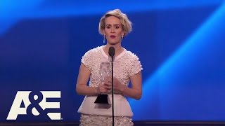 Sarah Paulson Wins Best Actress in a Limited Series | 22nd Annual Critics