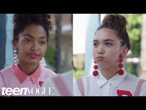 Rowan Blanchard and Yara Shahidi Take a Friendship Test | Teen Vogue