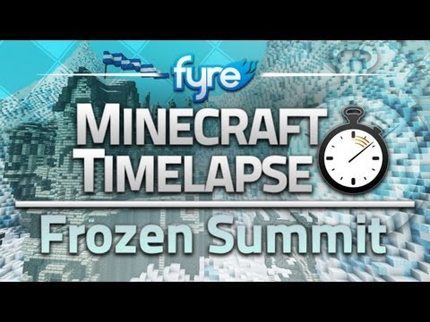 Minecraft Timelapse - Frozen Summit