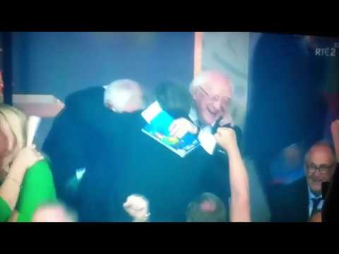 Ireland vs Italy Euro 2016 Michael D Higgins