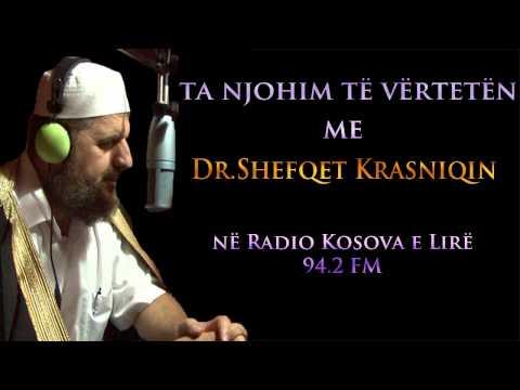Dr. Shefqet Krasniqi (në Radio Kosova e Lirë) 26.08.2014
