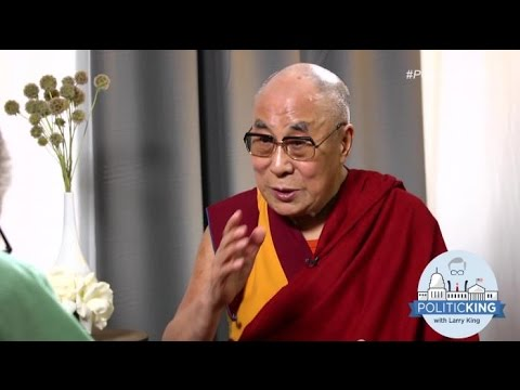 The Dalai Lama On What He Thinks About Netanyahu, Putin and Pres. Obama | Larry King Now | Ora.TV