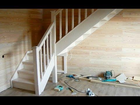 Лестница с площадкой. Часть 2.