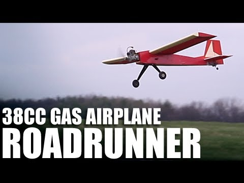 Flite Test - The Roadrunner - 38cc Gas Airplane
