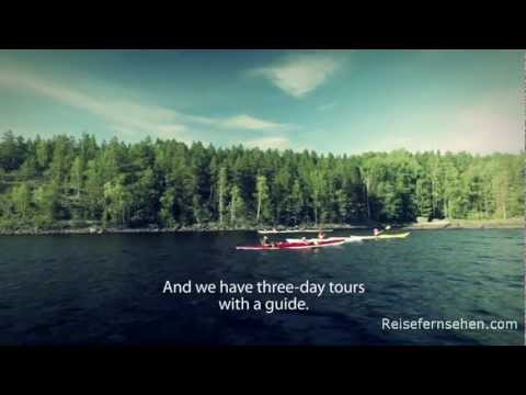Finland / Finnland: Lake Saimaa - Kayaking by Reisefernsehen.com - Reisevideo / travel video