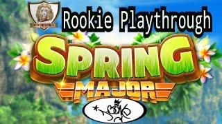 Golf Clash, Spring Major - Rookie Playthrough