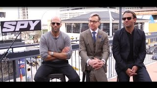 'Spy' Interview: Jason Statham, Director Paul Feig, And Bobby Cannavale