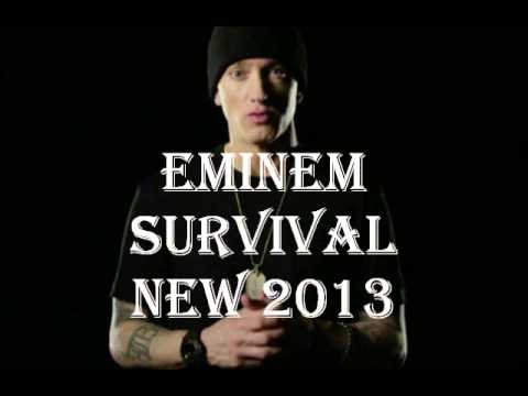 *new 2013* Eminem - Survival Lyrics (full Version)(dirty)(ft Liz Rodriquez) video