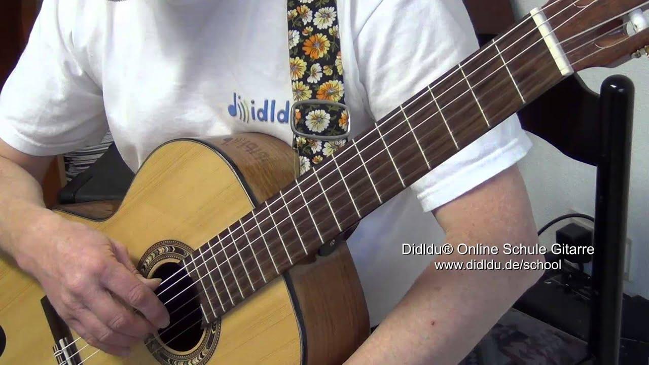 String in Der Schule Didldu © Schule Gitarre Der