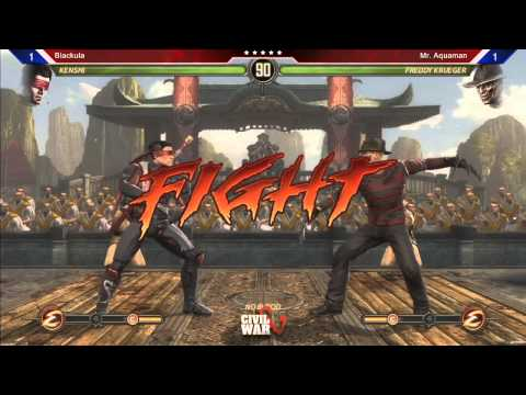Mortal Kombat 9 @ Civil War 5 Semi-Finals 2/2 (Read Description)