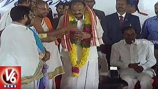 Telangana Government Honored Vice President Venkaiah Naidu At Raj Bhavan
