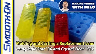 How to Create a Replacement Tail Light - Moldmaking and Clear Casting Resin Demonstration