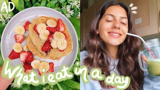 what i eat in a day at home ???? (vegan and healthy)