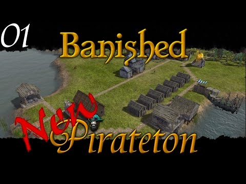 Banished - New Pirateton w/ Colonial Charter v1.4 - Ep 01