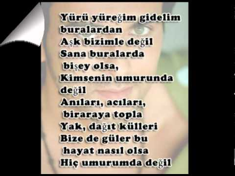 Yürü Yüreğim  Gökhan -lyrics.wmv video
