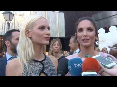 Poppy Delevingne y Eugenia Silva en Madrid