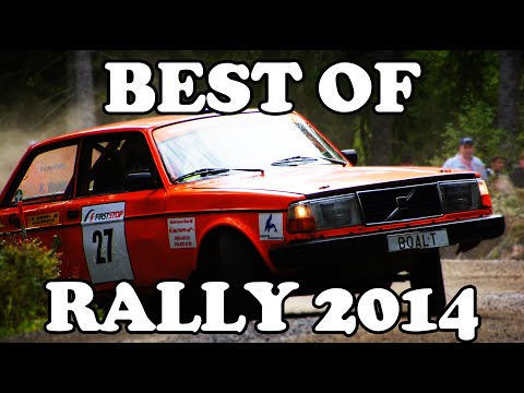 BEST OF RALLY 2014 - Crashes, action, on the limit!