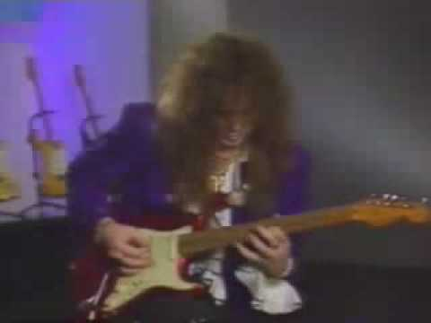 Yngwie Malmsten - Malmsteem - Guitar-lessons-guitar Solos video