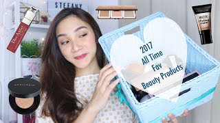 2017 All Time Fave/ Best Beauty Products part.I (MakeUp) | STEFANYTALITA