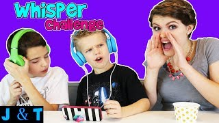 WHISPER CHALLENGE / Jake and Ty