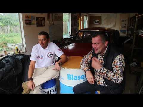 Kőváry Barna a Trabant-expedicióval beszélget