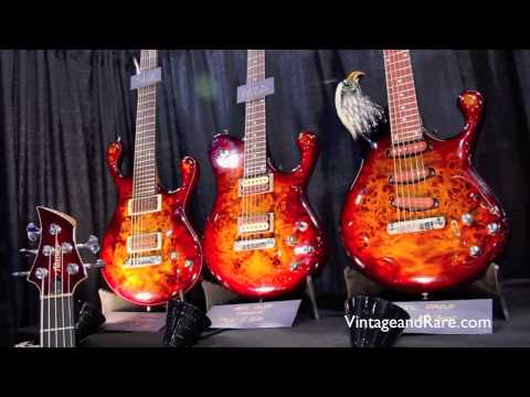 Fibenare Guitars / Interview / Vintage&RareTV / NAMM / Custom Guitars