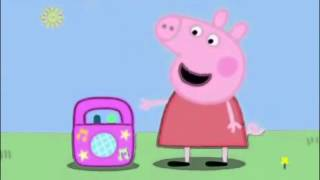 Peppa Pig listens to REAL grow up music