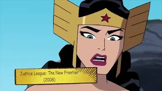 Wonder Woman all transformation in animation full [1972 - 2017]