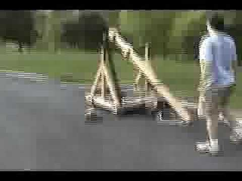 Spring Powered Catapult