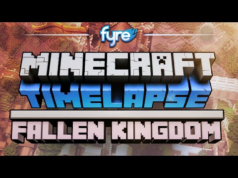Minecraft Timelapse – Fallen Kingdom Set (Captain Sparklez)