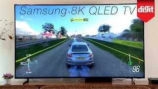 Tested! Gaming & Netflix on a massive 82-inch 8K TV : Samsung QLED 8K 2019 TV In-Depth Look