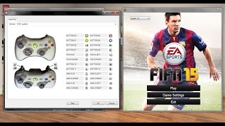 Change controls in FIFA 15/16/17 With Gamepad (Joystick)