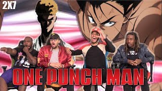 Saitama vs Suiryu! One Punch Man Season 2 Episode 7 REACTION/REVIEW