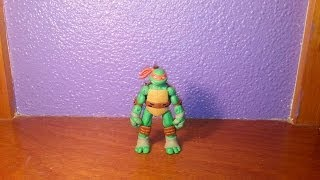 Custom Teenage Mutant Ninja Turtles Review - Michelangelo