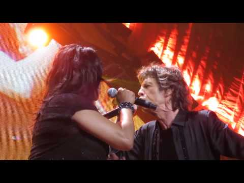 The Rolling Stones - Gimme Shelter ( Front Row ) - Live @ The Honda Center 5-18-13 in HD