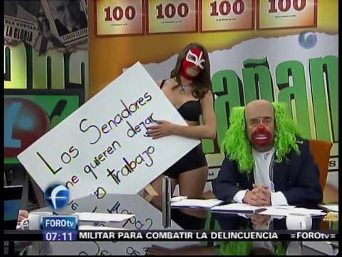 Senado Quiere Revisar Contenidos del Programa El Mañanero 18/11/2011 - by Foro TV