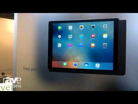 ISE 2016: Viveroo Highlights free iPad Wall Dock