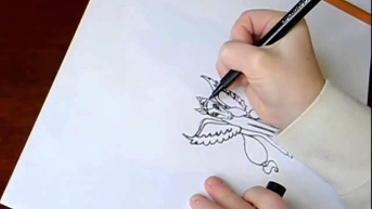 Как нарисовать стену карандашом поэтапно