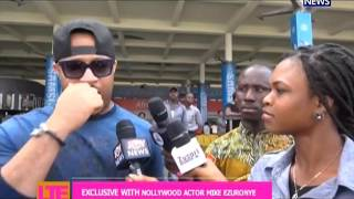 Exclusive with Nollywood Actor Mike Ezuronye - Let's Talk Entertainment (3-2-17)
