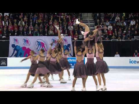 2013 ISU World Synchronized Skating Championships Free Skate Highlights