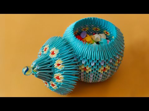 3D Origami Jewellery Box Tutorial