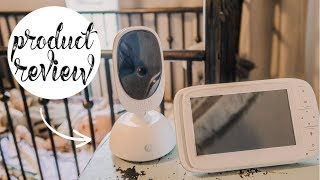 MOTOROLA COMFORT 75 BABY MONITOR REVIEW   MUST HAVE BABY PRODUCT 2019