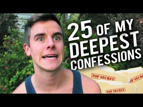 25 Of My Deepest Confessions