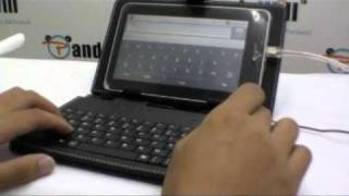 Keyboard+Stylus+Case for 7 Tablet
