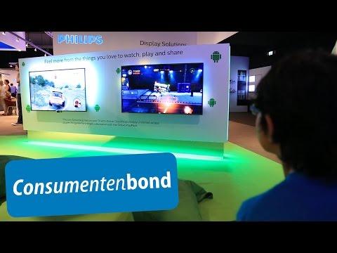 Philips televisie met Android - IFA 2014 (Consumentenbond)