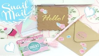 Snail Mail Process #2 | OhSoFawn