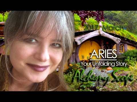 Aries March 2017 | Alchemy Scope for Evolution | Pisces New Moon Cycle