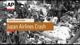 Japan Airlines Crash - 1985 | Today in History | 12 Aug 16